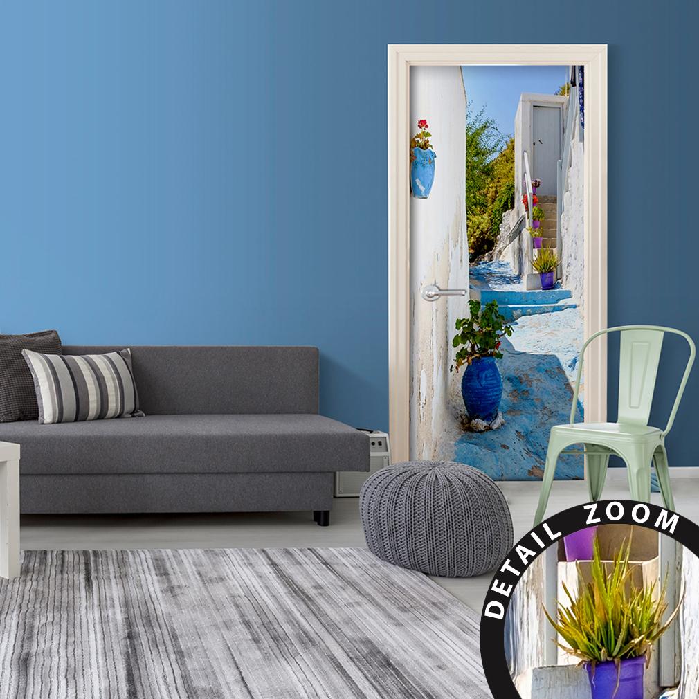 t rtapete selbstklebend t rfolie t rposter t raufkleber fototapete tunnel 5 farb ebay. Black Bedroom Furniture Sets. Home Design Ideas