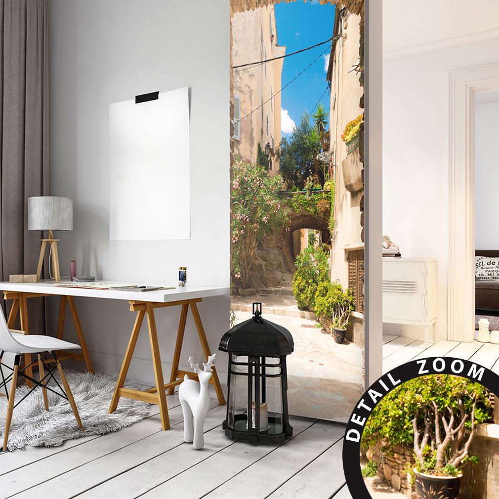 premium t rtapete selbstklebend tapete fototapete t rposter t raufkleber dwb0040 ebay. Black Bedroom Furniture Sets. Home Design Ideas
