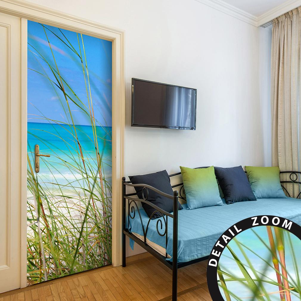 t rtapete selbstklebend t rfolie t rposter t raufkleber fototapete tunnel stadt ebay. Black Bedroom Furniture Sets. Home Design Ideas