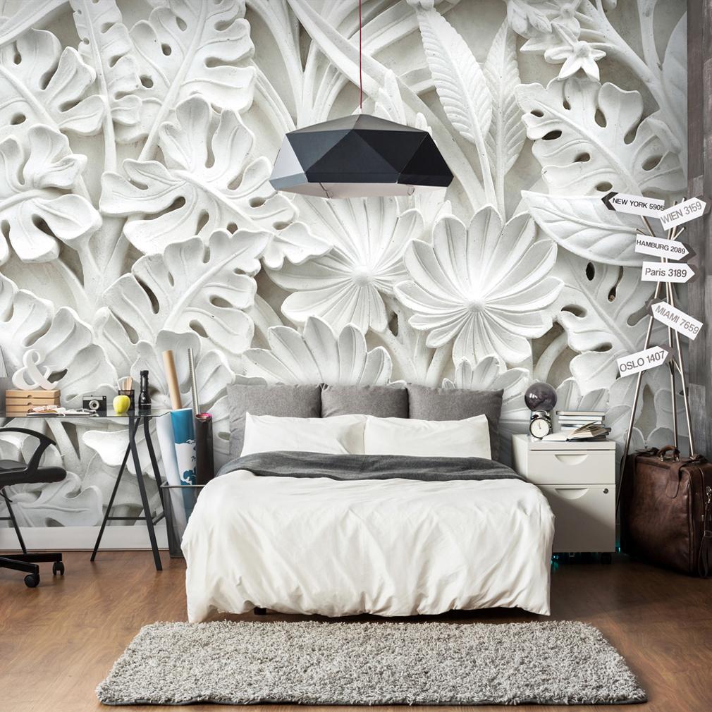 vlies fototapete steinwand tapete tapeten schlafzimmer wandbild xxl fob0009 ebay. Black Bedroom Furniture Sets. Home Design Ideas
