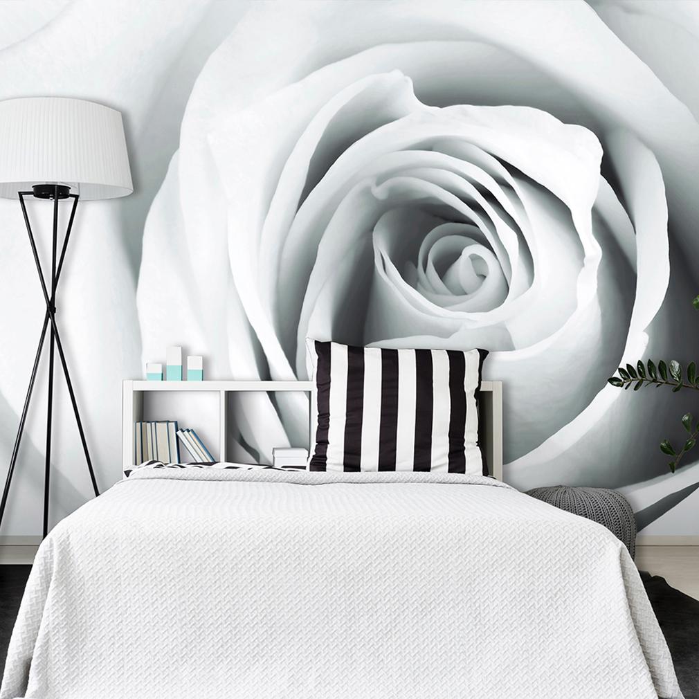 vlies fototapete blumen rosa tapete tapeten schlafzimmer. Black Bedroom Furniture Sets. Home Design Ideas