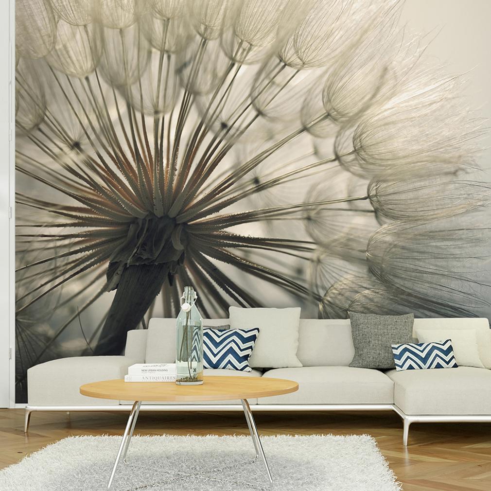 vlies fototapete pustelblume tapete tapeten schlafzimmer. Black Bedroom Furniture Sets. Home Design Ideas