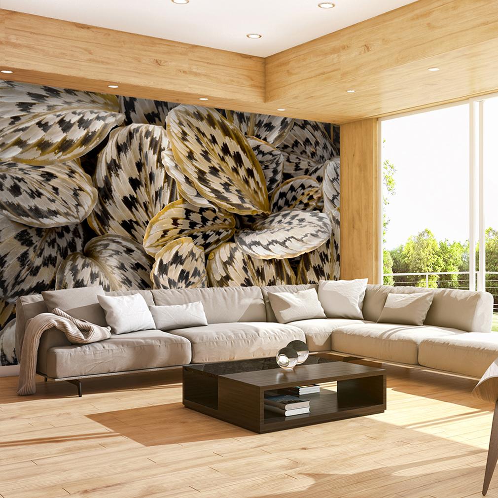 vlies fototapete pflantzen tapete tapeten schlafzimmer wandbild xxl fob0055. Black Bedroom Furniture Sets. Home Design Ideas