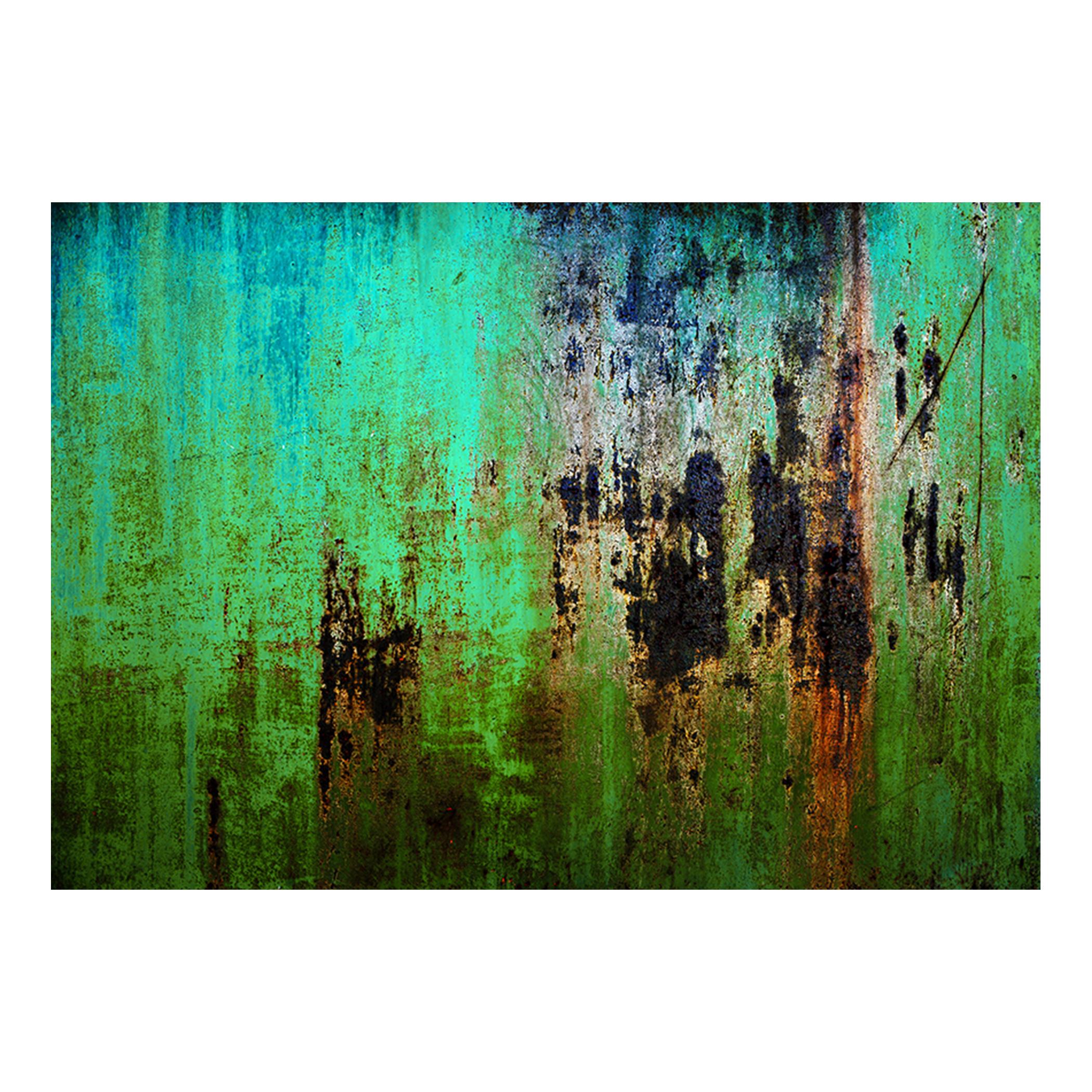 vlies fototapete rost gr n rot 3d metalwand tapete tapeten wandbild xxl 2 farben ebay. Black Bedroom Furniture Sets. Home Design Ideas