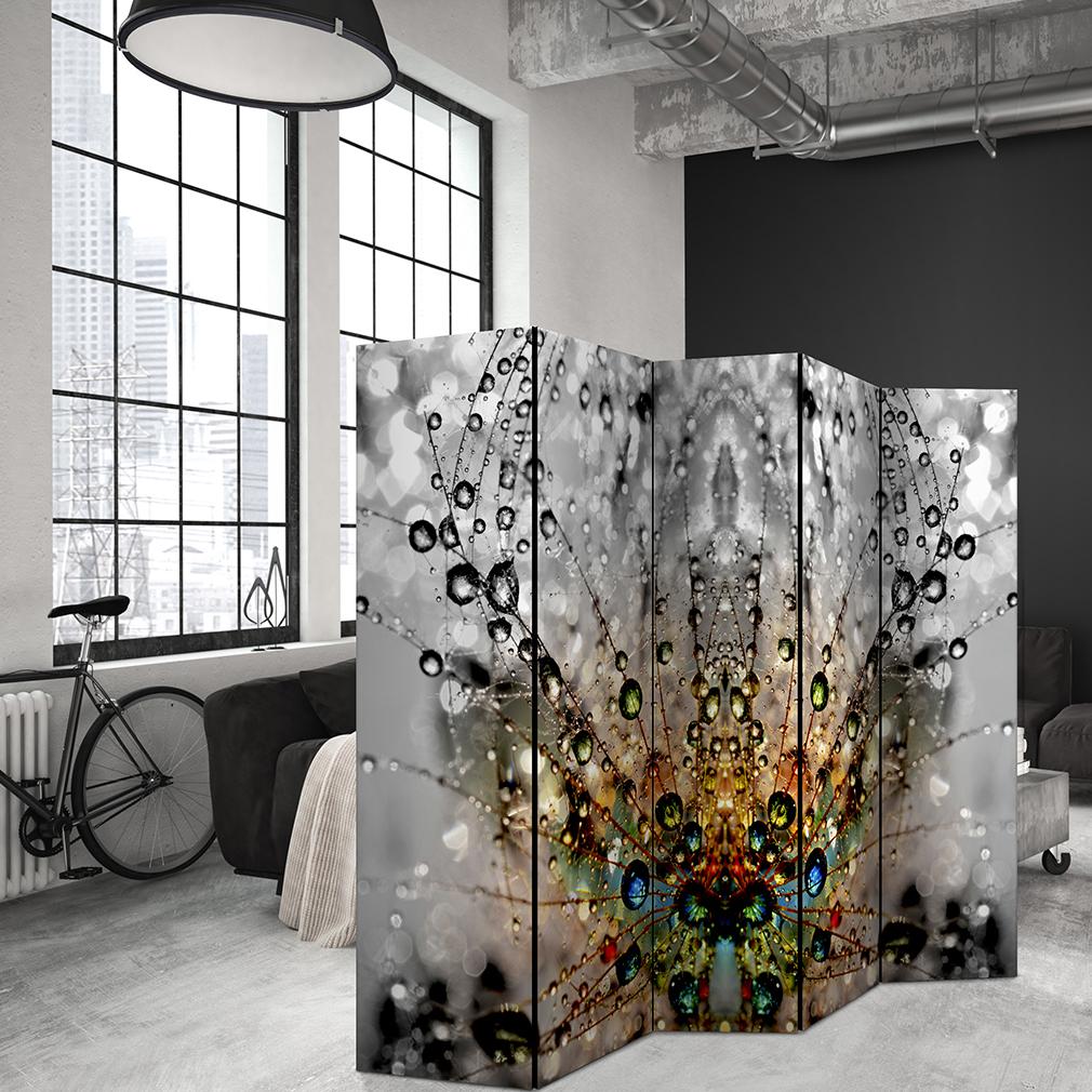 Pusteblume PARAVENT RAUMTEILER Spanische Wand TRENNWANDBlumen Design XXL 9Motiv