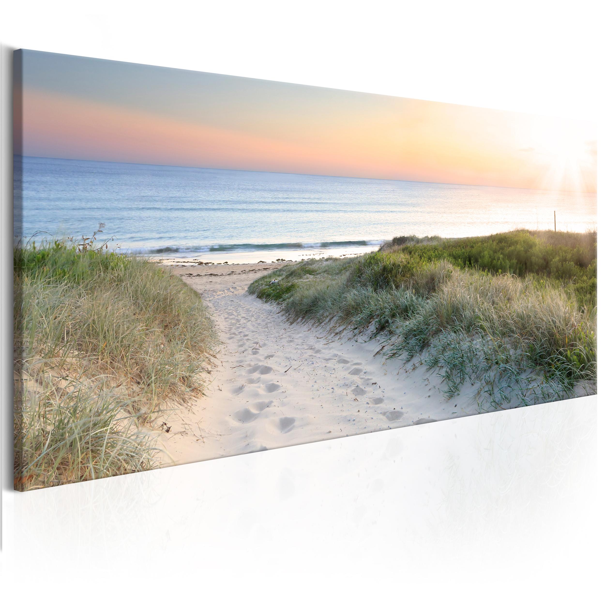 leinwand bilder strand meer wald landschaft gro e wandbilder xxl wohnzimmer 05 ebay. Black Bedroom Furniture Sets. Home Design Ideas