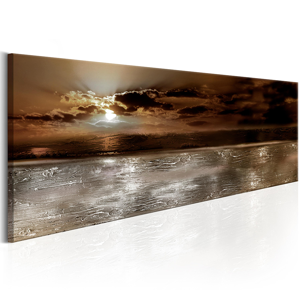 bilder leinwand bild meer strand natur abstrakt modern art wandbilder kunstdruck ebay. Black Bedroom Furniture Sets. Home Design Ideas