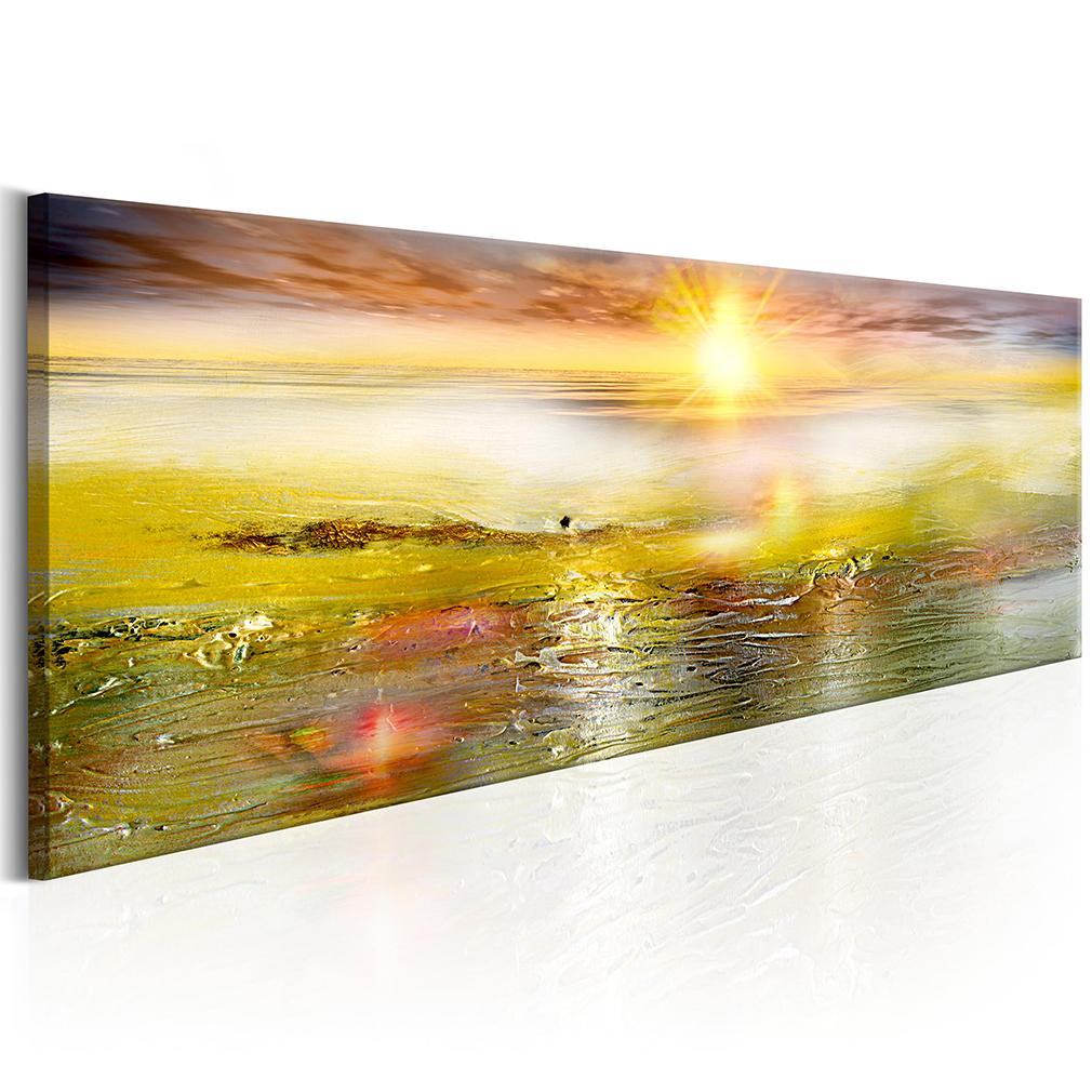 Bilder Leinwand Bild Meer Strand Natur Abstrakt Modern Art