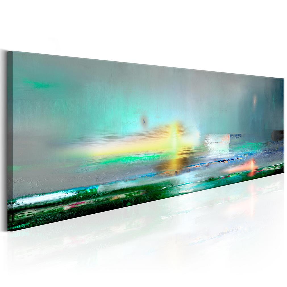 Bilder leinwand bild meer strand natur abstrakt modern art for Bilder modern art