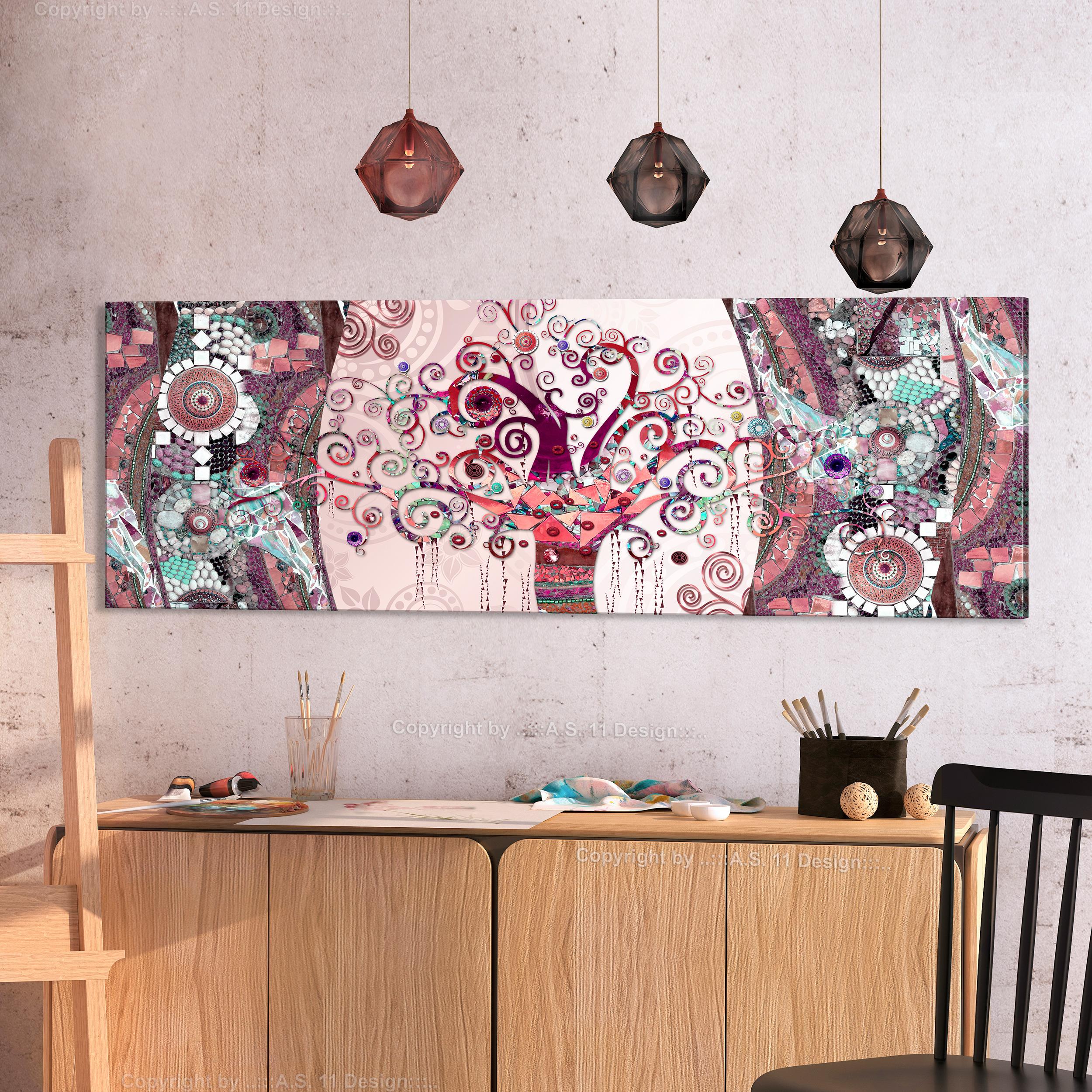 baum des lebens leinwand deko bilder bild abstrakt