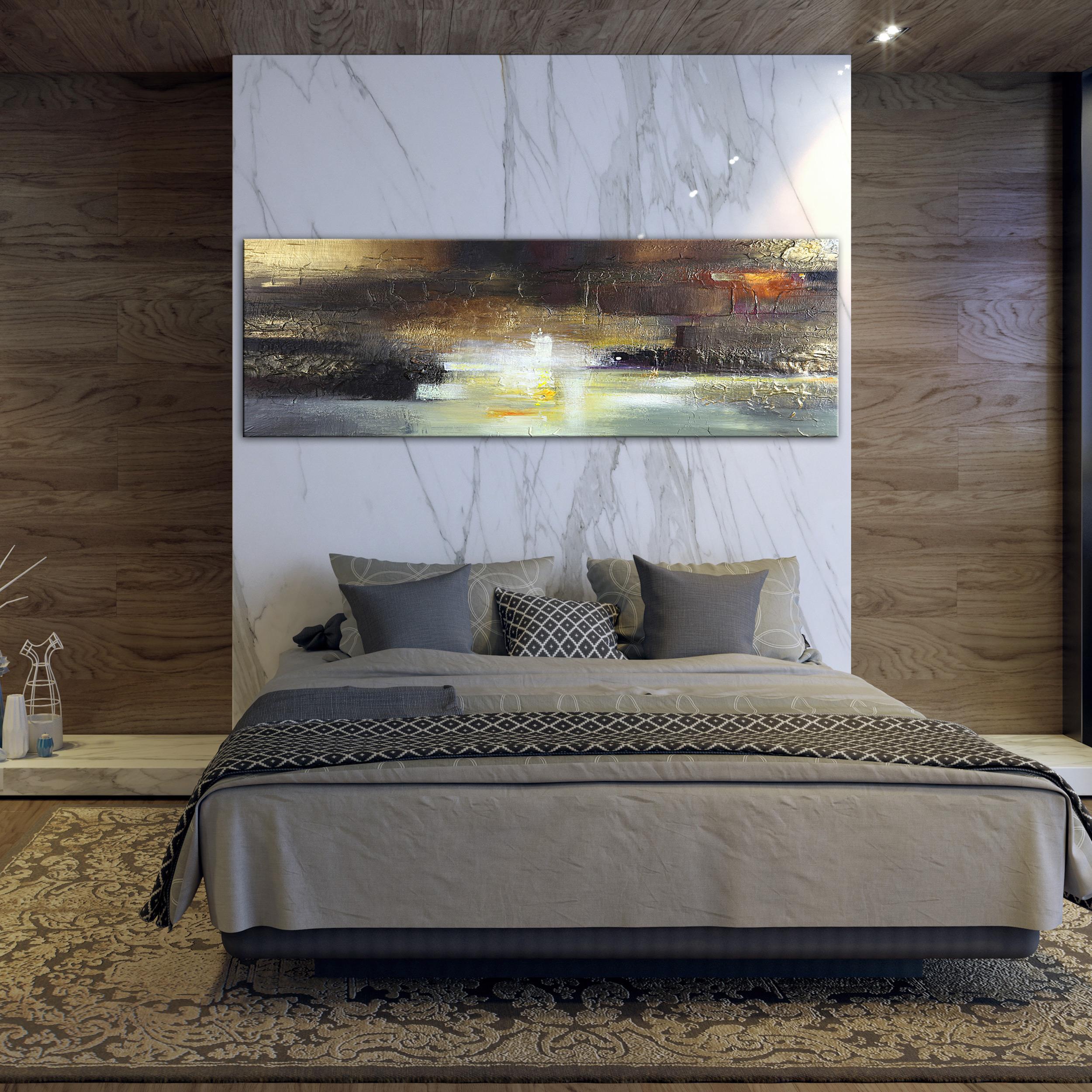 vlies leinwandbild bilder abstrakt modern wandbild xxl