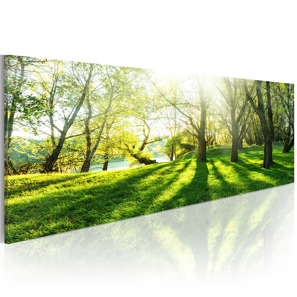 leinwand bilder wald strand meer natur landschaft wandbilder gro e auswahl ebay. Black Bedroom Furniture Sets. Home Design Ideas