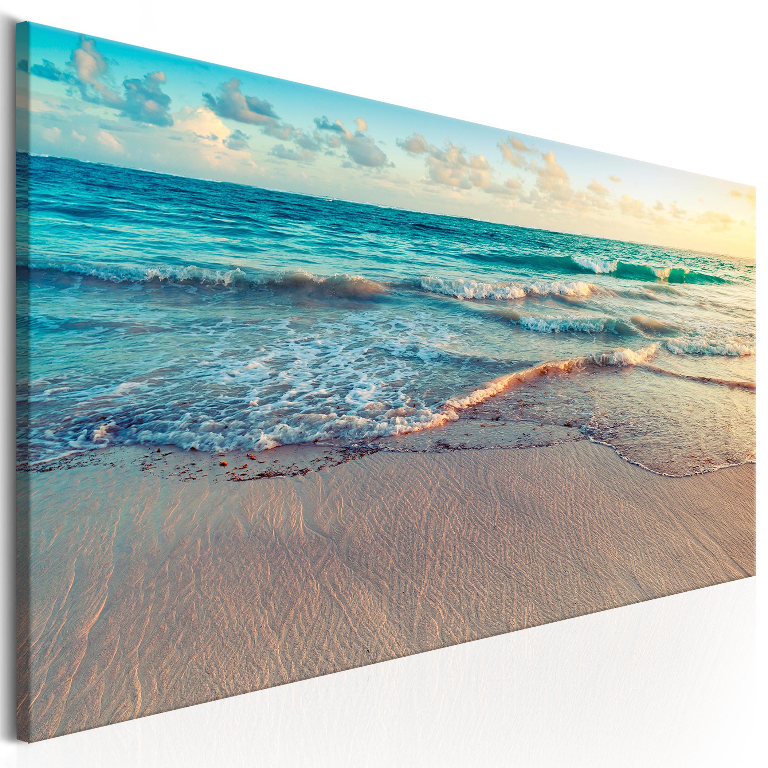 bilder leinwand bild meer strand natur wandbilder xxl kunstdruck akustikbild 470 ebay. Black Bedroom Furniture Sets. Home Design Ideas