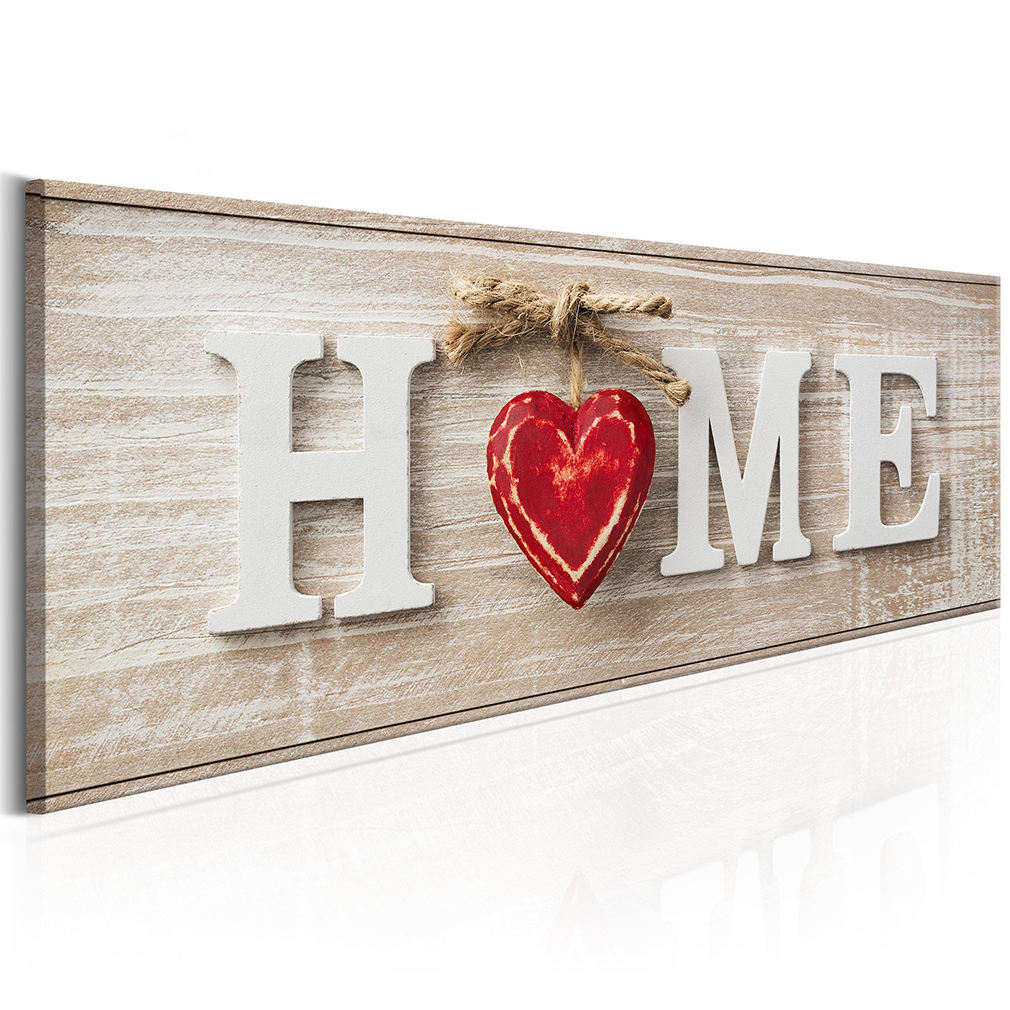 bilder leinwand bild home holz haus wandbilder kunstdruck vintage retro dka0076 ebay. Black Bedroom Furniture Sets. Home Design Ideas