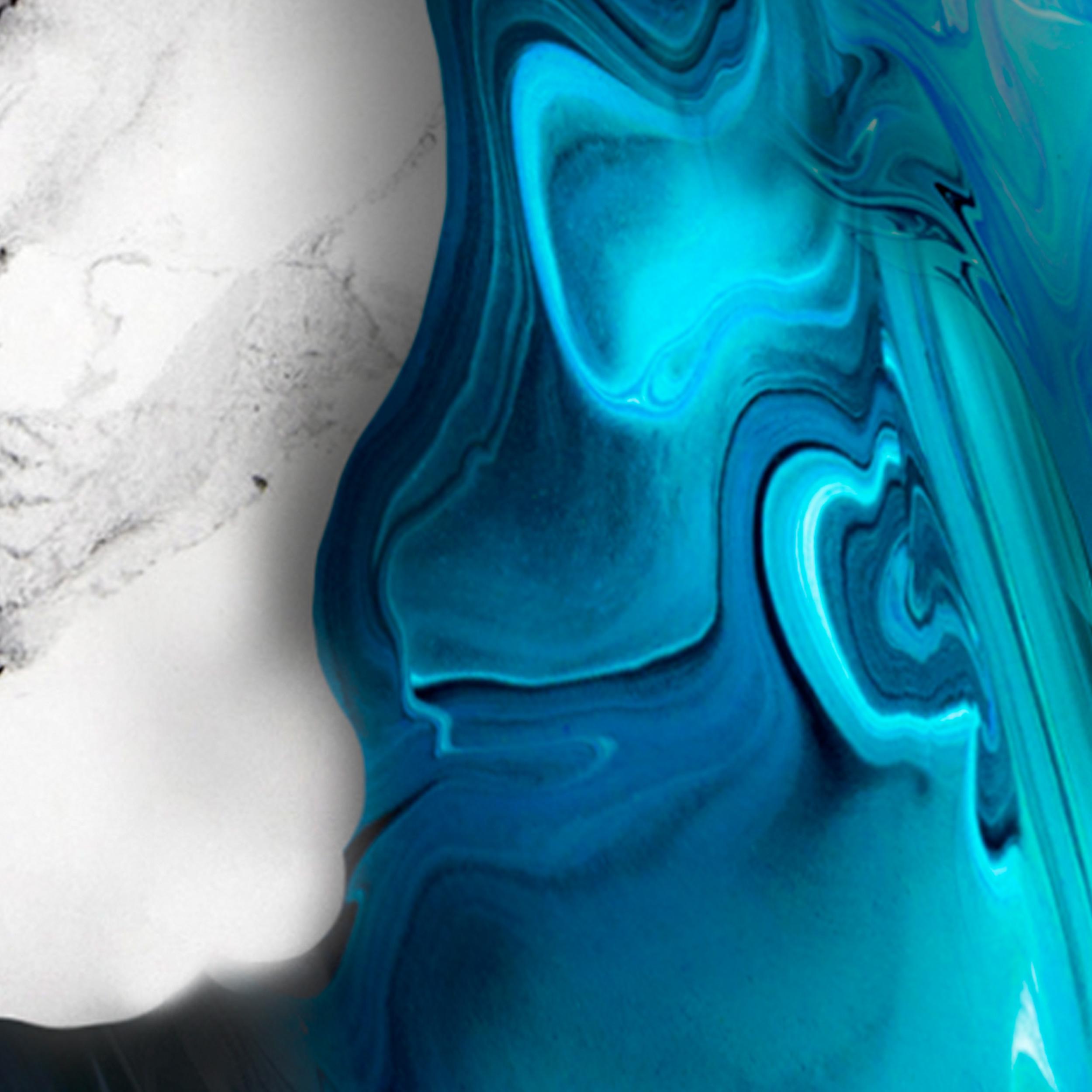 Marmor HOLZ LEINWAND Deko Bilder Abstrakt XXL Wandbilder KUNST Druck Bild 5Motiv