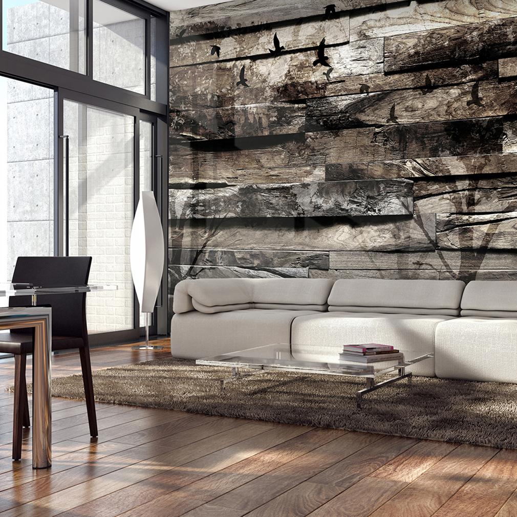 vlies fototapete holz bretter holzwand tapete holz optik. Black Bedroom Furniture Sets. Home Design Ideas