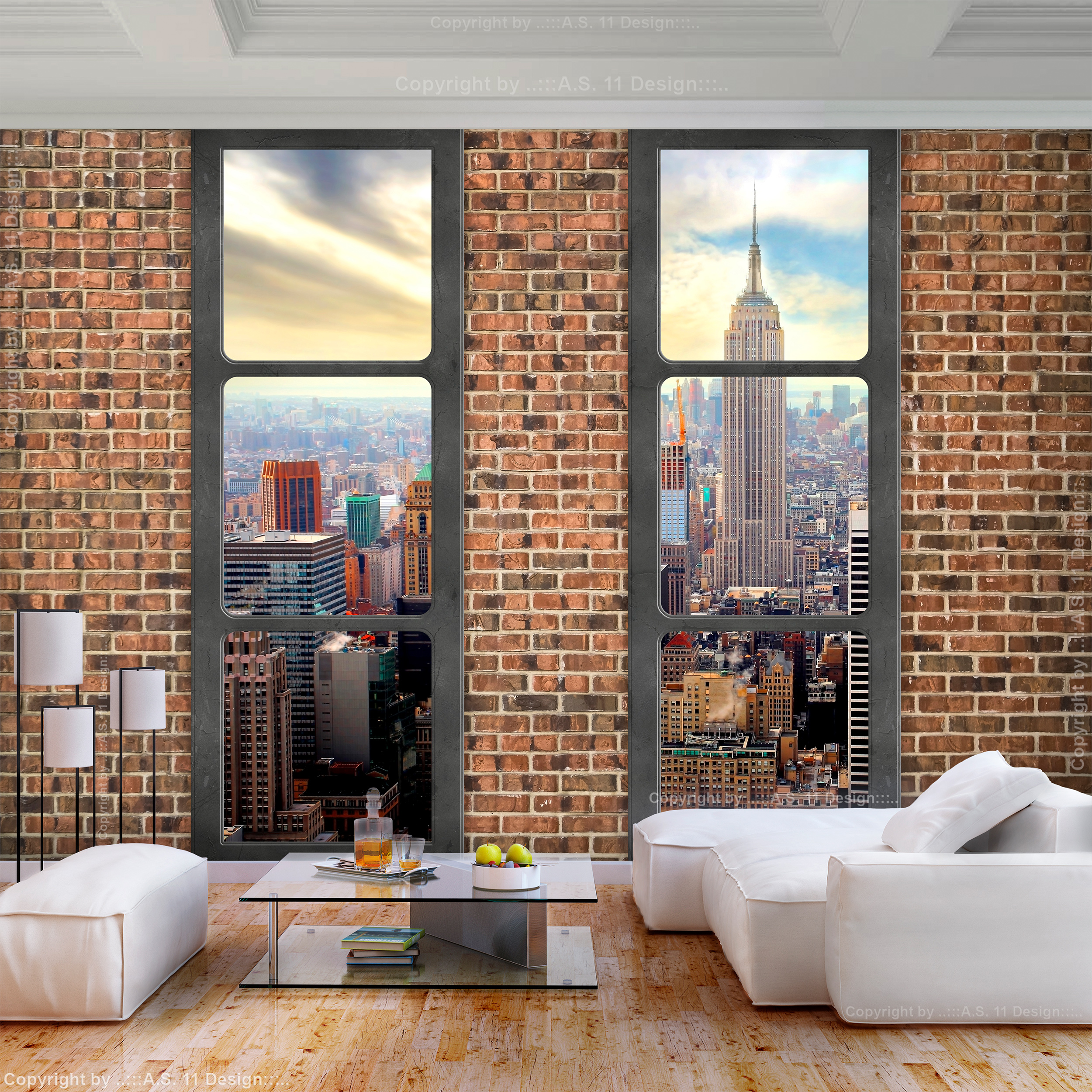 Vlies fototapete steinwand new york tapete wandbilder xxl wohnzimmer 3 farbe 053 ebay - Fototapete steinwand ...