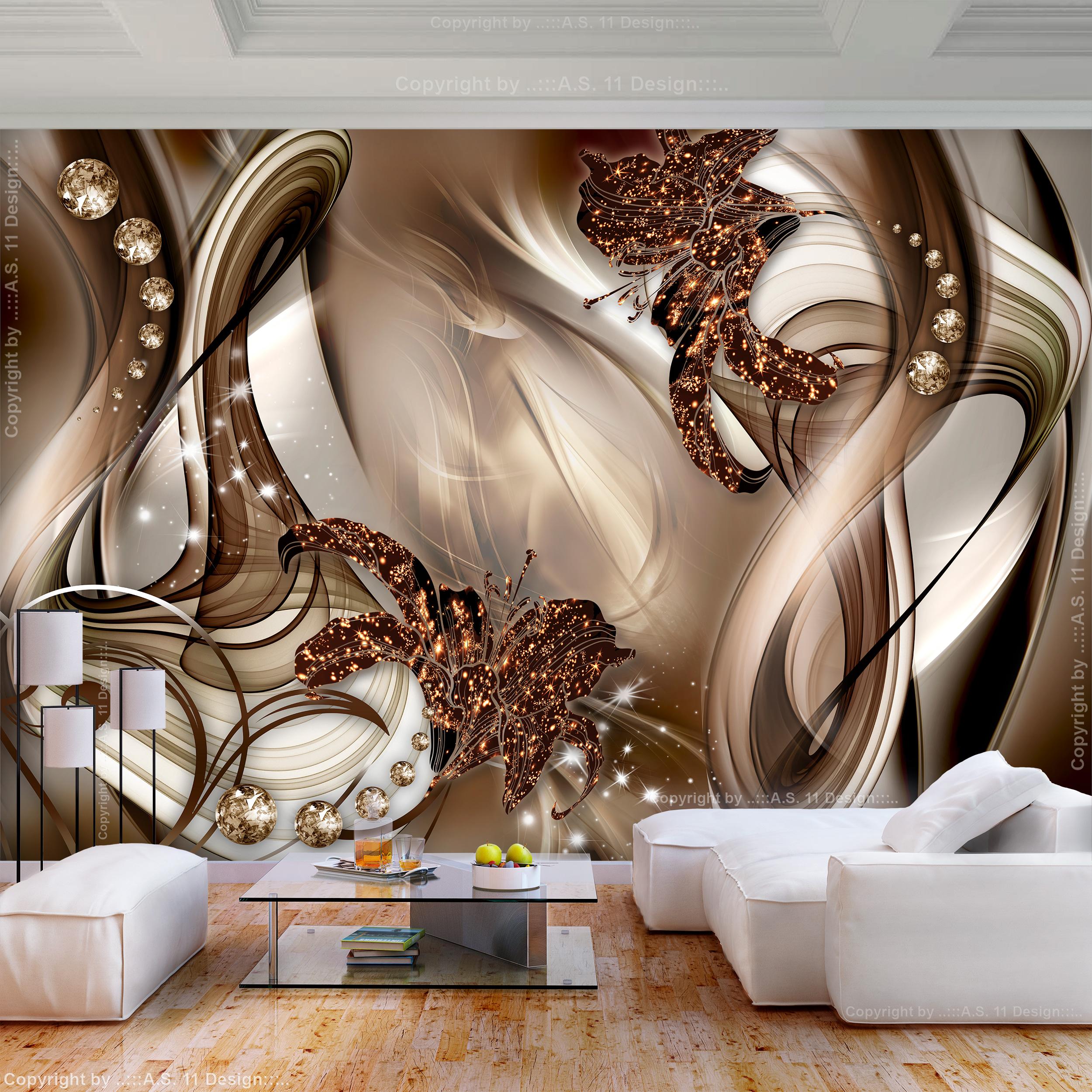 FOTOTAPETE selbstklebend Tapete 3D effekt Ornamente ...