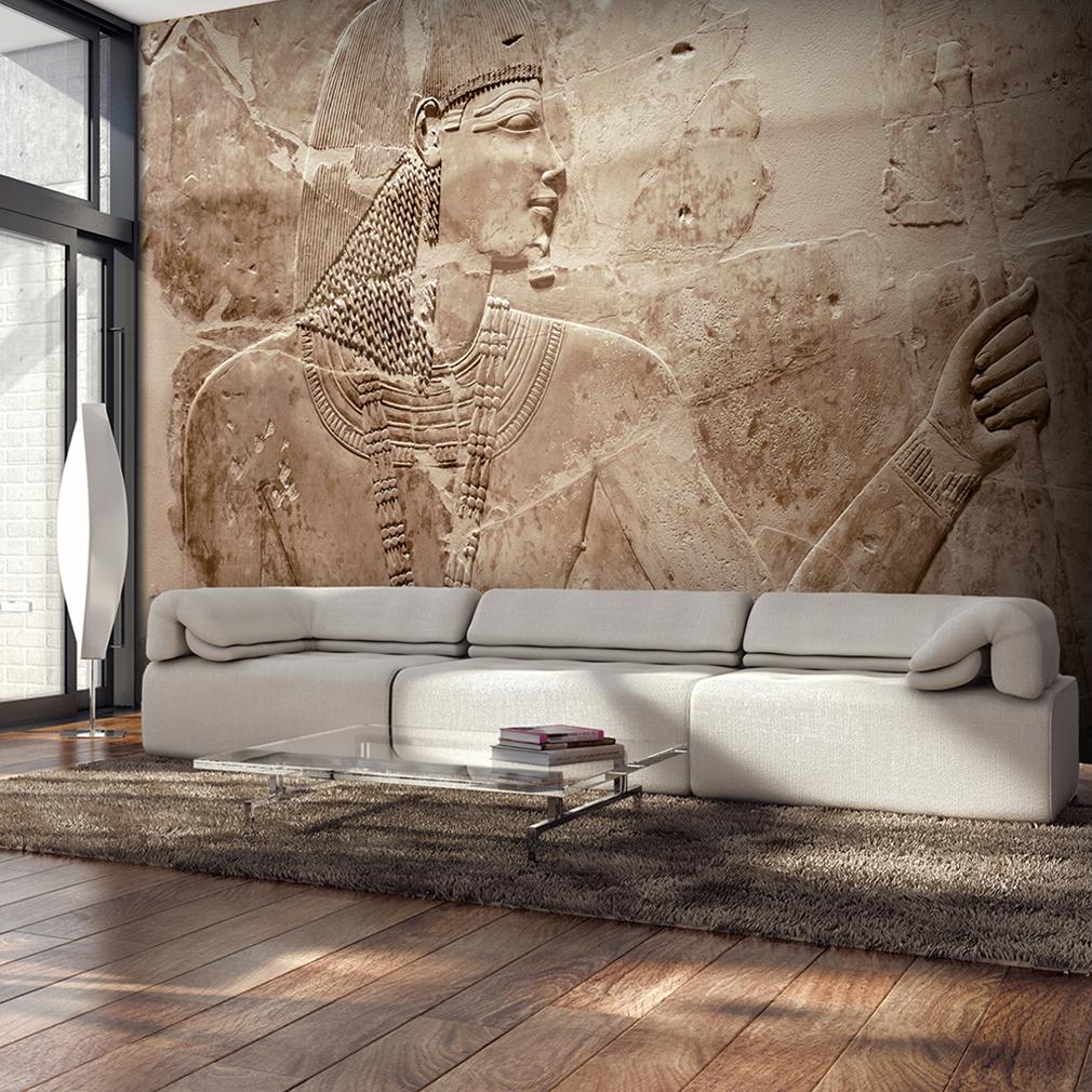 VLIES FOTOTAPETE Steinwand Stein Agypten 3D TAPETE WANDBILDER