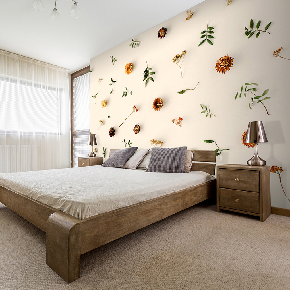 vlies fototapete 3d effekt blumen beige cremig tapete wandbilder xxl wohnzimmer ebay. Black Bedroom Furniture Sets. Home Design Ideas