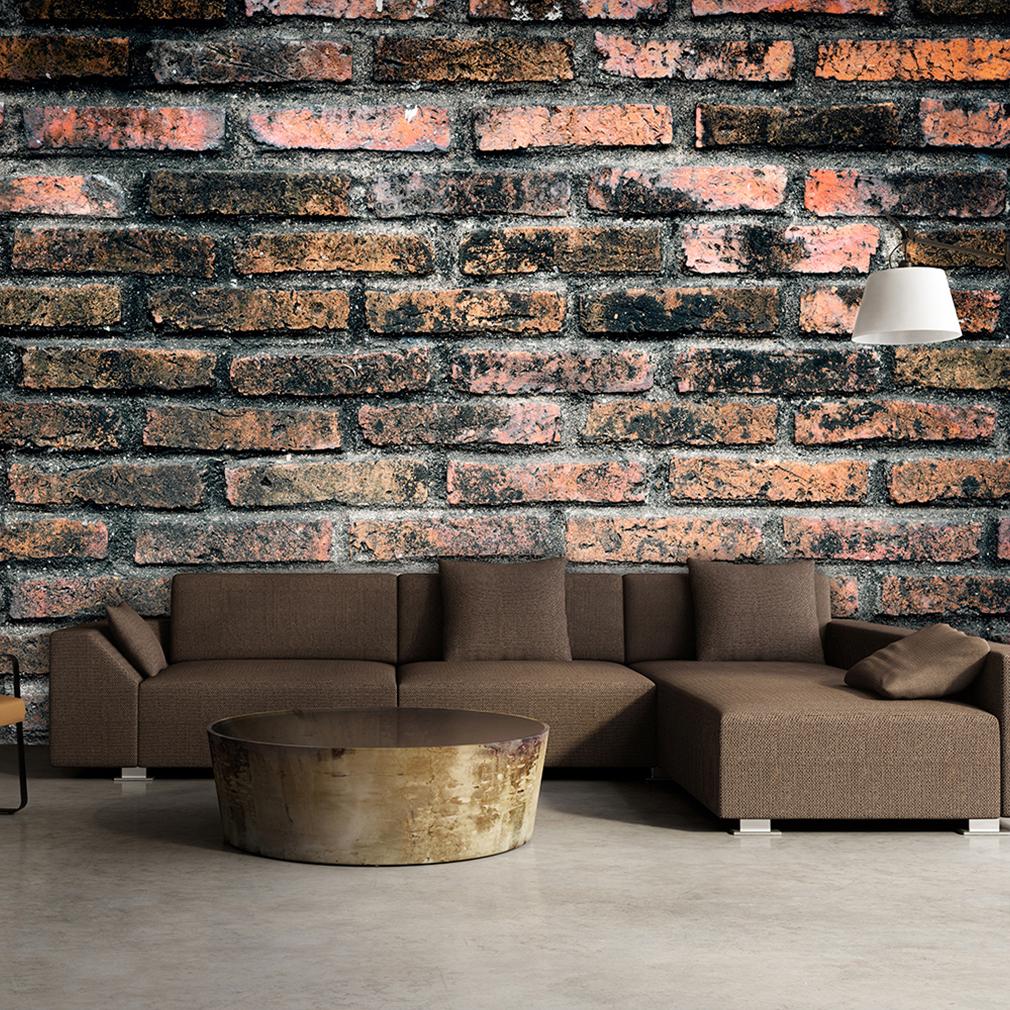 Gut VLIES FOTOTAPETE Ziegel 3D Effekt Steinwand TAPETE Wohnzimmer