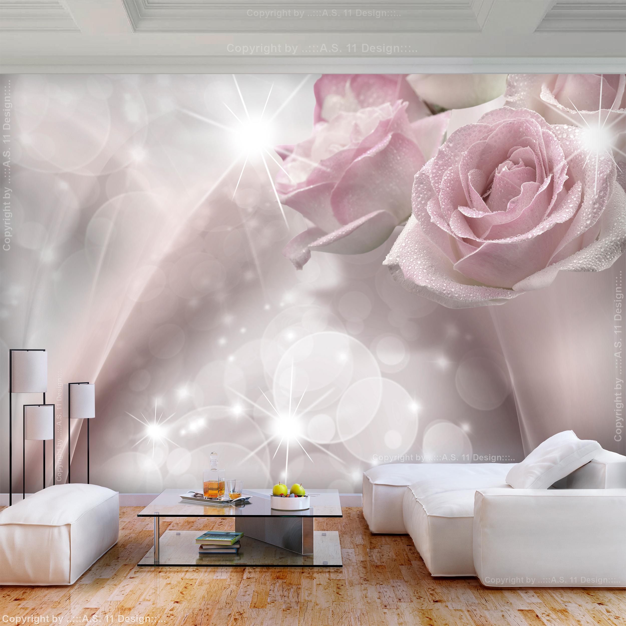 VLIES FOTOTAPETE Blumen Abstrakt modern Lilien TAPETE WANDBILDER