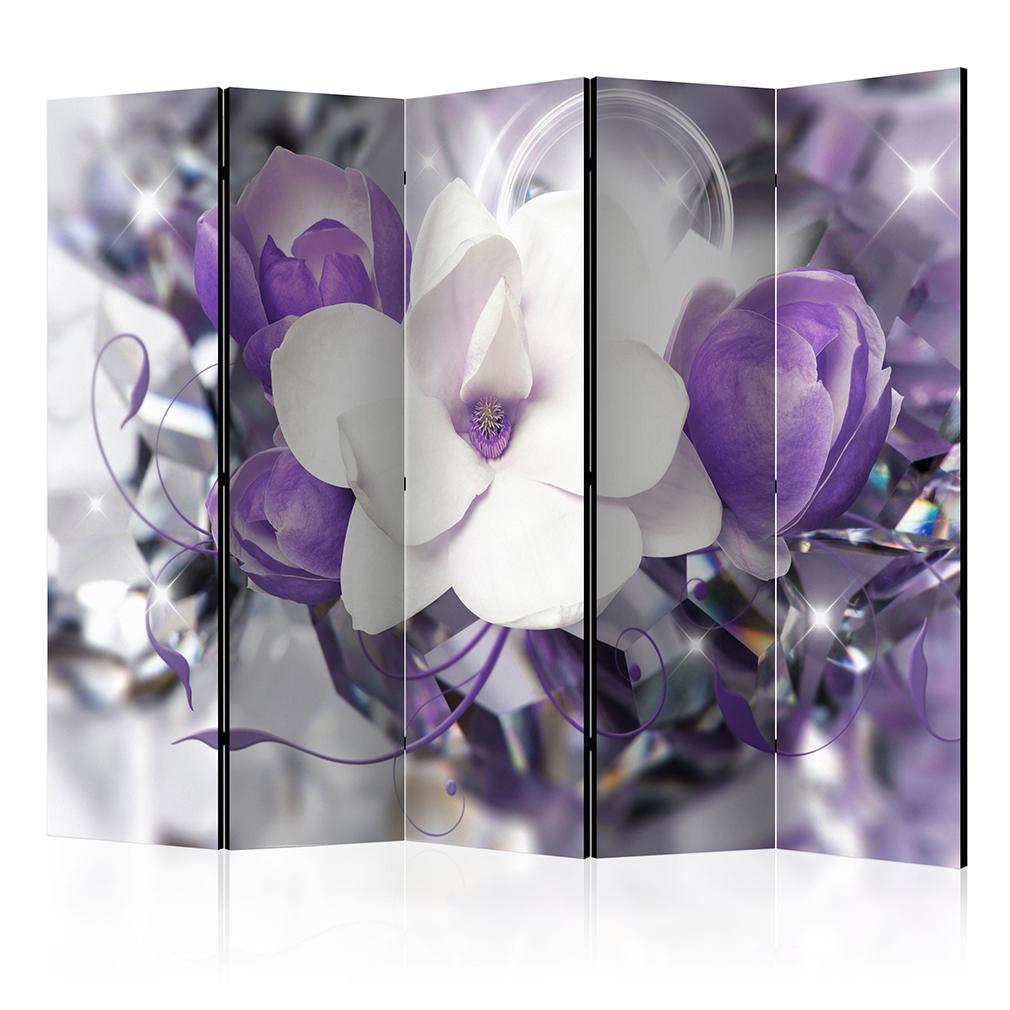 deko paravent raumteiler trennwand foto blumen orchidee. Black Bedroom Furniture Sets. Home Design Ideas
