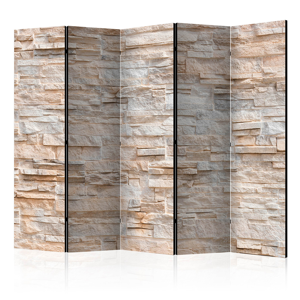deko paravent raumteiler trennwand foto sandstein. Black Bedroom Furniture Sets. Home Design Ideas