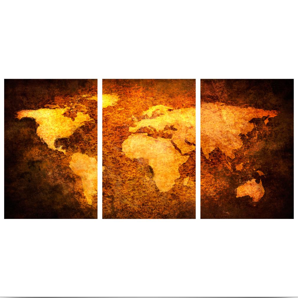 LEINWAND-BILDER-xxl-Bild-Weltkarte-Map-PINNWAND-Holzfaserplatte-GROssE-AUSWAHL Indexbild 37